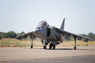 Photograph - Harrier Jump Jet by Gary Rose
