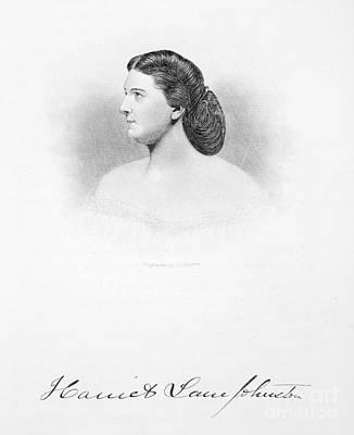 Harriet Lane Johnston Art Print by Granger