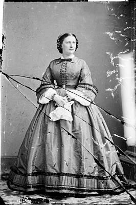 Harriet Lane, Niece Of  James Buchanan Art Print by Everett