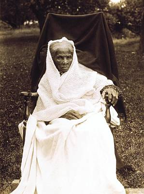 Harriet Tubman 1820-1913 In Old Age Print by Everett