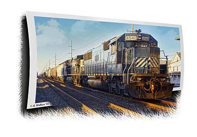 Harrington Train Art Print by Brian Wallace