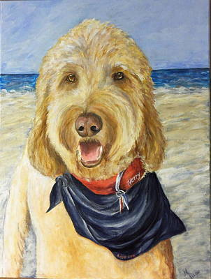 Harry At The Beach Art Print