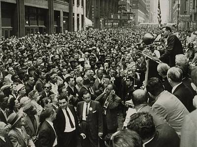 Harry Belafonte B. 1927 Speaking At An Print by Everett