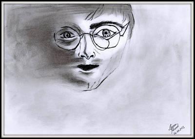 Harry Blurred Art Print