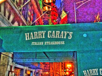 Harry Caray's Art Print by Barry R Jones Jr