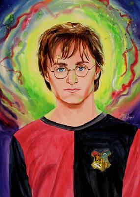 Harry Potter Art Print by Ken Meyer