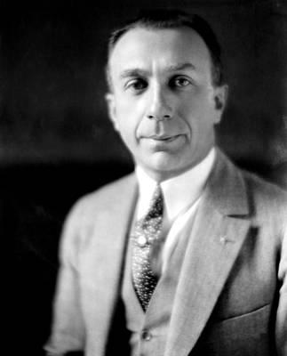 Harry Warner, 1881-1958, Co-founder Art Print by Everett