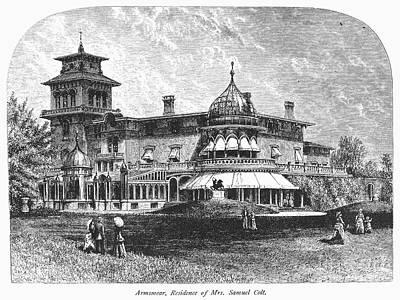 Hartford: Armsmear Mansion Art Print by Granger