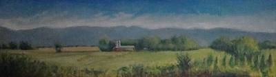 Painting - Hartford Farm by Mark Haley