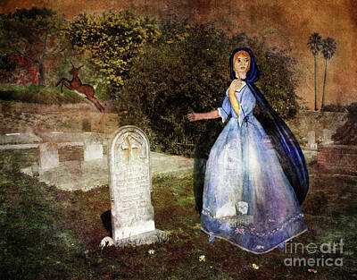 Tombstone Digital Art - Hart's Escape by Laura Iverson