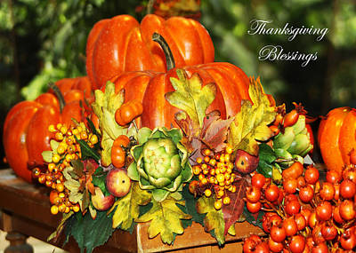 Photograph - Harvest Blessings by Diana Haronis