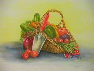 Painting - Harvesting Time by Pauline  Kretler