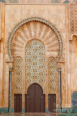 Photograph - Hassan II Mosque by Eva Kaufman
