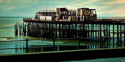 Photograph - Hastings Pier by Chris Lord