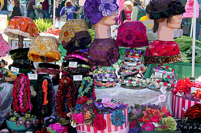 Art And Craft Digital Art - Hat Heaven by Suzanne Gaff