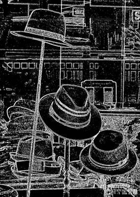 White Photograph - Hat Shop In Paris by Carol Groenen