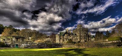 Hatley Castle Panorama Art Print