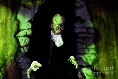 Haunted Butler Art Print by Darleen Stry