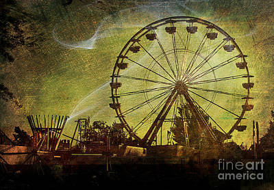 Haunted Midway Art Print