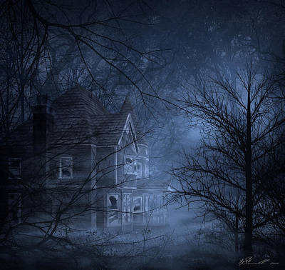 Haunted Place Art Print by Svetlana Sewell