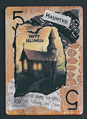 Mixed Media - Haunted by Ruby Cross