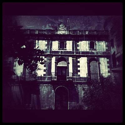 Horror Wall Art - Photograph - #haunted#house#barcelona#igdungeon #igfm by Jenni Martinez