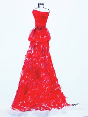Haute Couture Art Print by Trilby Cole