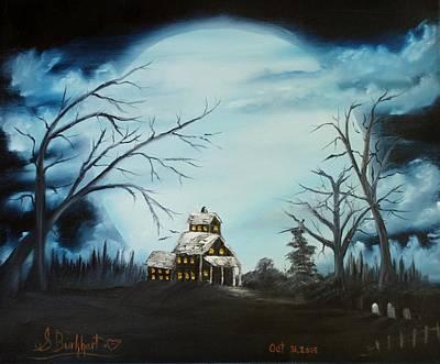Hauted Mansion 2005  Print by Shawna Burkhart