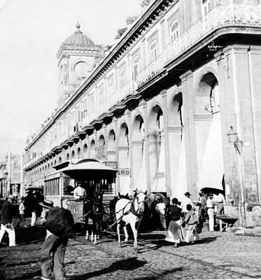 Havana - Cuba - The Great Market - C 1899 Art Print