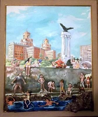 Cuba 3 Painting - Havana by Haydee Scull