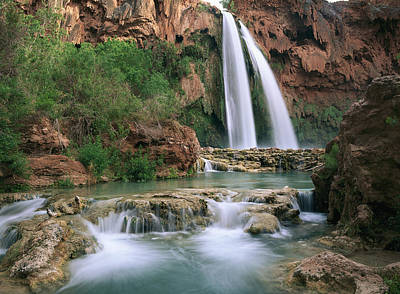 Photograph - Havasu Creek, Grand Canyon, Az by Tim Fitzharris