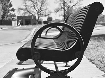 Have A Seat Art Print by Teresa Dixon