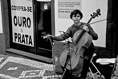 Photograph - Have Cello Will Play by Eric Tressler