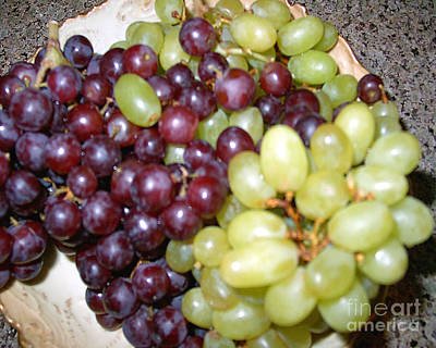 Photograph - Have Some Grapes by Merton Allen