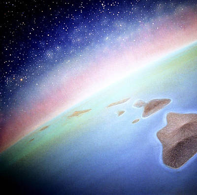 Constellations Painting - Hawaii A Land For All Seasons  by Kevin Smith