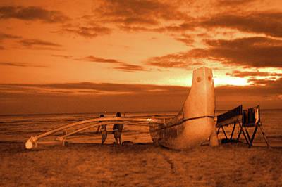 Photograph - Hawaii Sunset  by Alina  Oswald