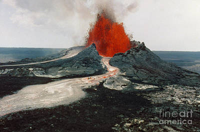 Photograph - Hawaii: Volcanos, 1984 by Granger