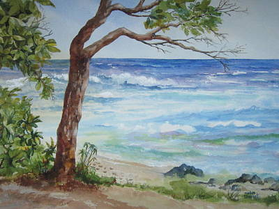 Hawaiian Beach Art Print
