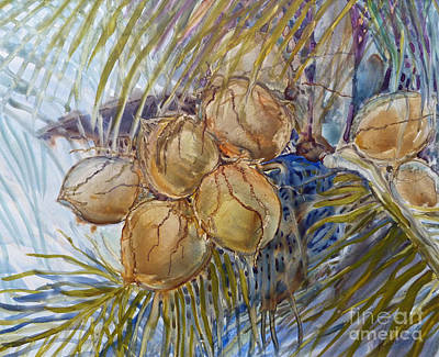 Art Print featuring the painting Hawaiian Cluster by Louise Peardon