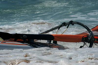 Photograph - Hawaiian Island Windsurf by Sharon Mau