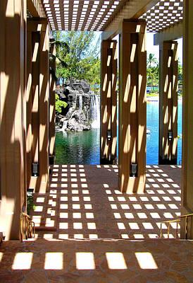 Photograph - Hawaiian Resort by Pat Moore