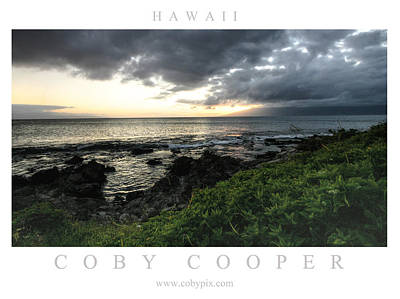 Photograph - Hawaiian Sunset by Coby Cooper