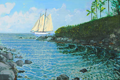 Painting - Hawaiian Vista by Charlie Harris