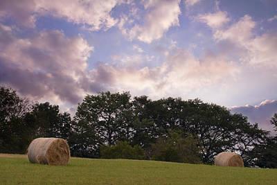 Hay Field Sunrise Original