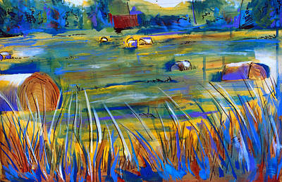 Painting - Hay by John Jr Gholson