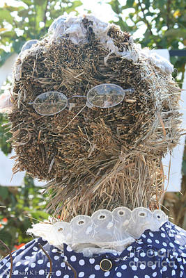Photograph - Hay Lady by Susan Herber