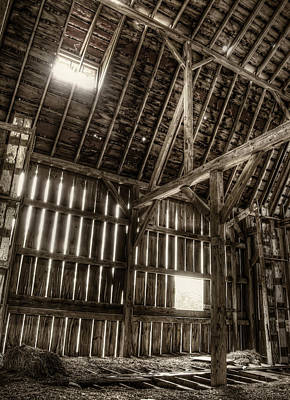 Hay Photograph - Hay Loft by Scott Norris