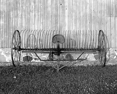 Hay Rake Original by Jan W Faul
