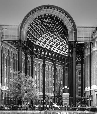 Hays Galleria London Art Print