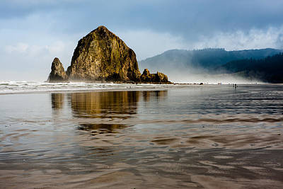 Up201209 Photograph - Haystack Rock by Josh Whalen